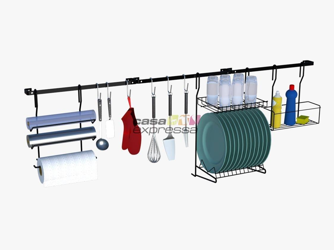 Kit 4 - Cozinha suspensa