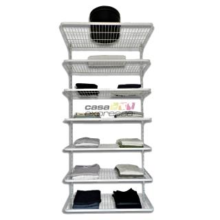 Módulo de Closet C90D - Prateleiras com 40cm de profundidade