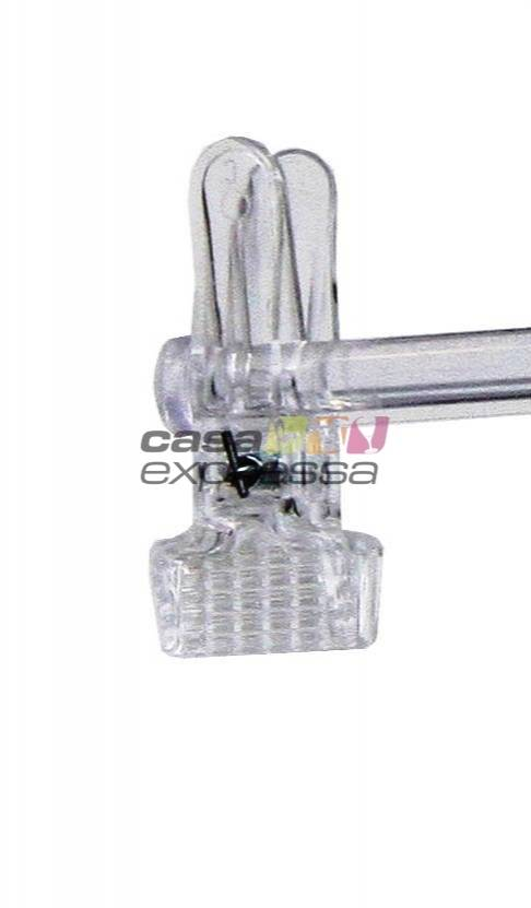 Kit cabide com 5 presilhas - CASA EXPRESSA