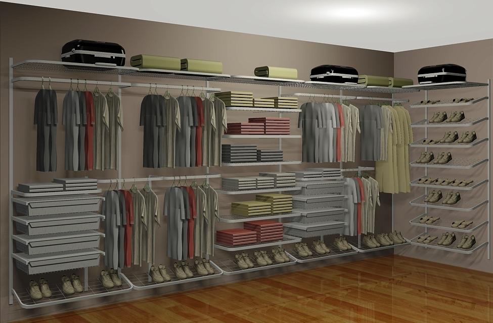 Closet Aramado em L CLL06 - 4,60m x 1,60m - CASA EXPRESSA