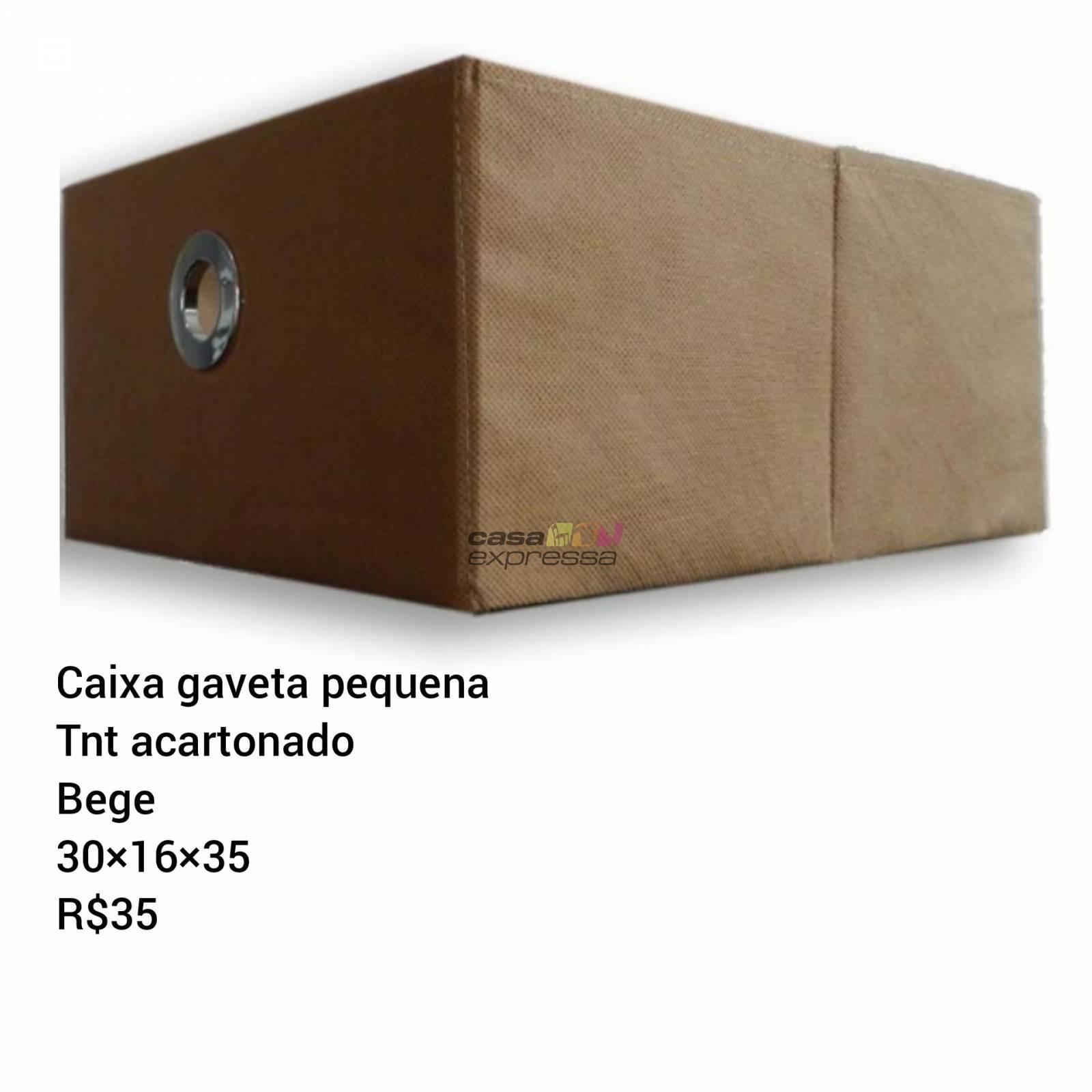 Caixa Gaveta Pequena - CASA EXPRESSA