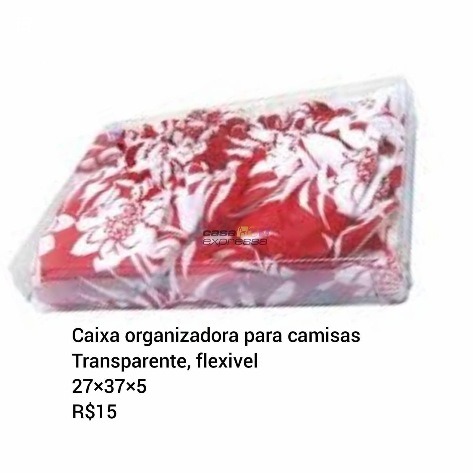 Caixa Organizadora para Camisas - CASA EXPRESSA