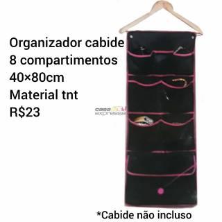 Organizador de cabide para acessórios ou roupas íntimas