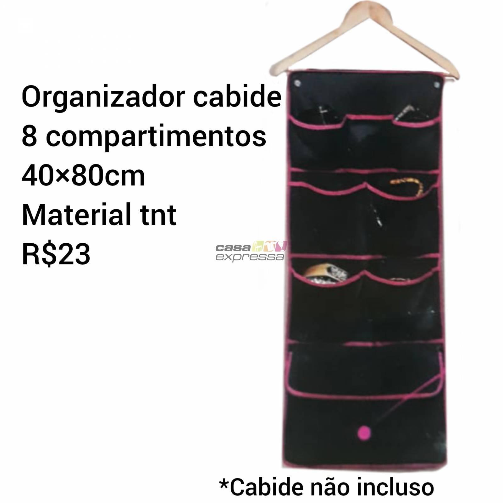 Organizador de cabide para acessórios ou roupas íntimas - CASA EXPRESSA