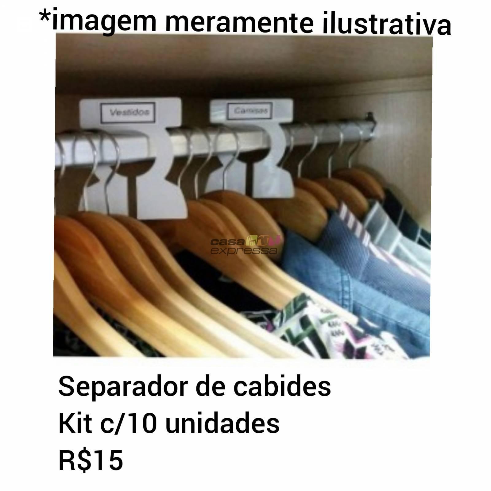 Separador de Cabides - CASA EXPRESSA