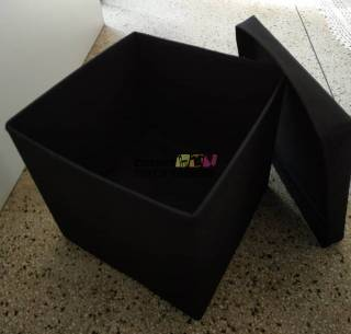 Pufe bau preto, pink ou marron
