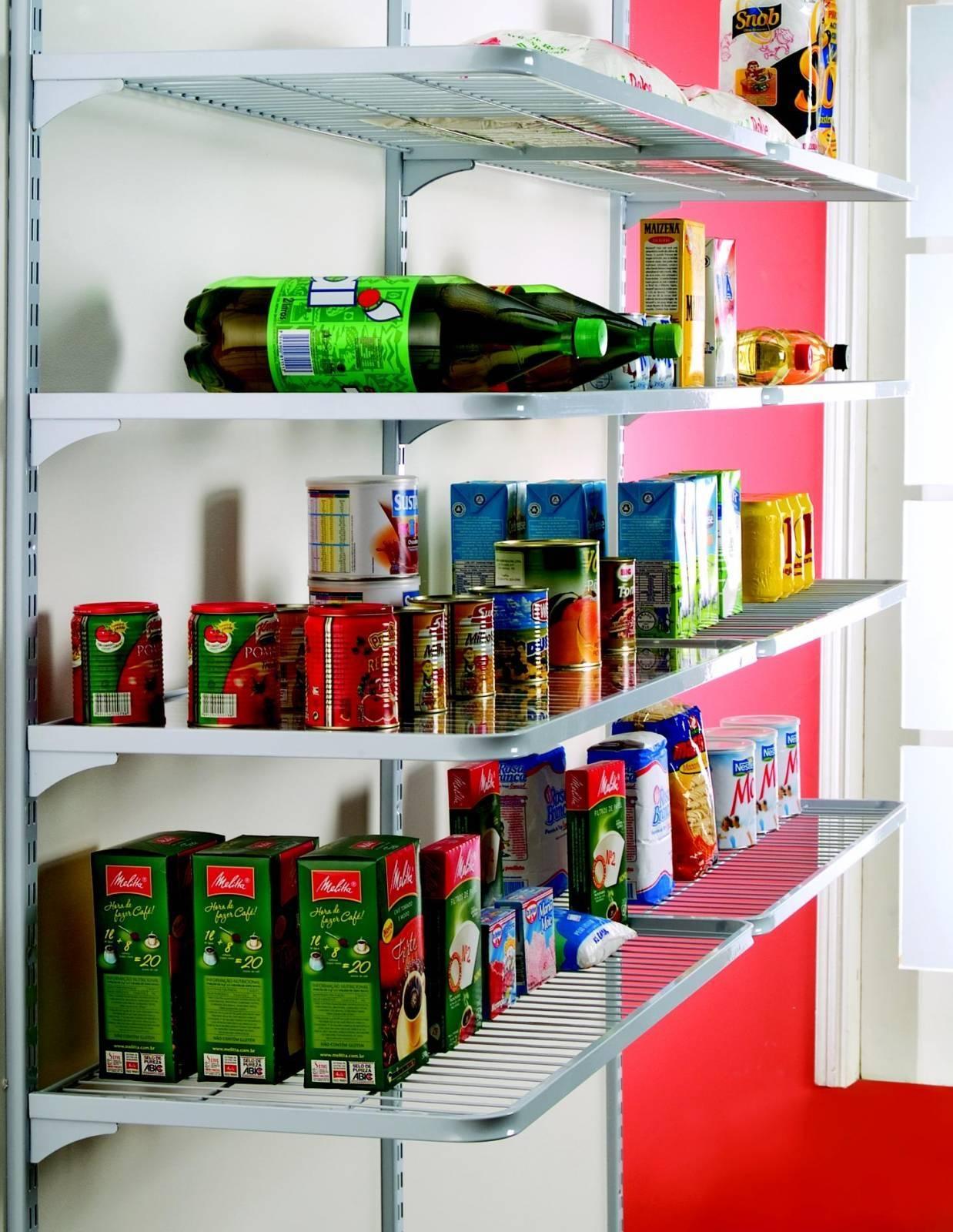 Despensa Vert 10 Prateleiras 120X30x200 - CASA EXPRESSA