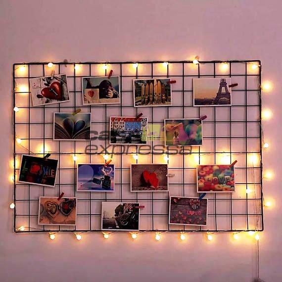 Tela aramada preto - Memory board - 60x80 - CASA EXPRESSA