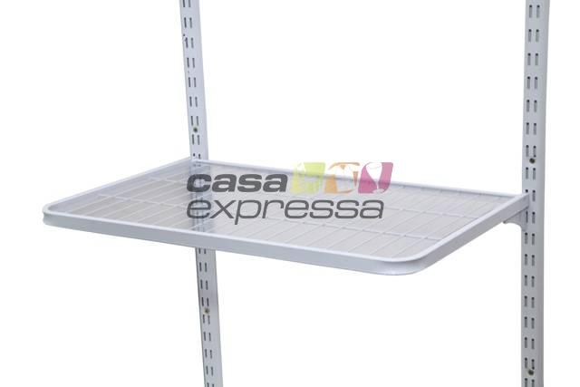 Caixa Com 5 Prateleiras 90X30CM Branco - CASA EXPRESSA