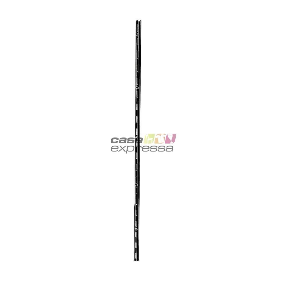 Módulo de Closet C60B Cabideiro Duplo - Smart Black - CASA EXPRESSA