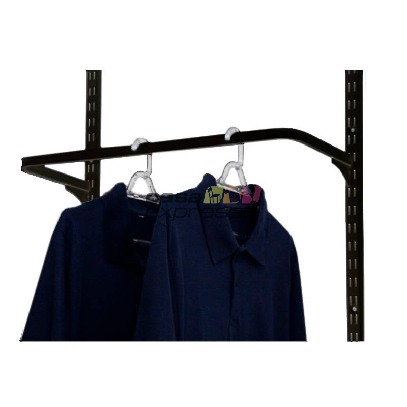 Guarda Roupa closet aramado sem portas CLR285 - 4,00m Black - CASA EXPRESSA