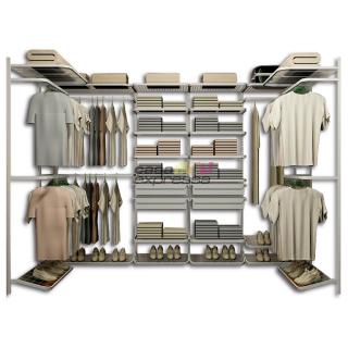 Closet Aramado em U CLU04 - 2,80m x 1,50m x 1,50m
