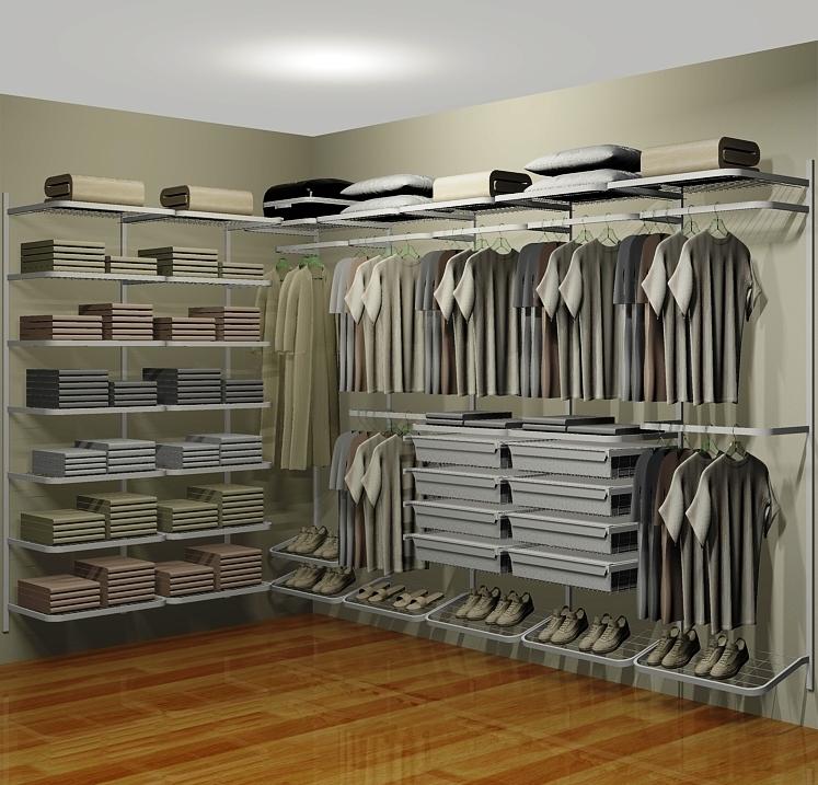 Closet Aramado em U CLU09 - 3,10m x 1,80m x 1,60m  - CASA EXPRESSA