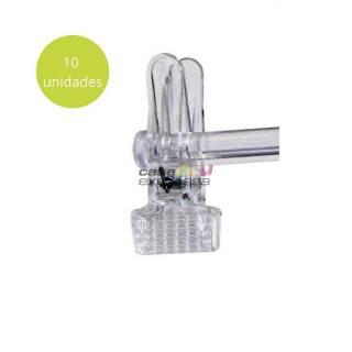 Kit de Presilha Para Cabide - Pacote c/ 10 unidades