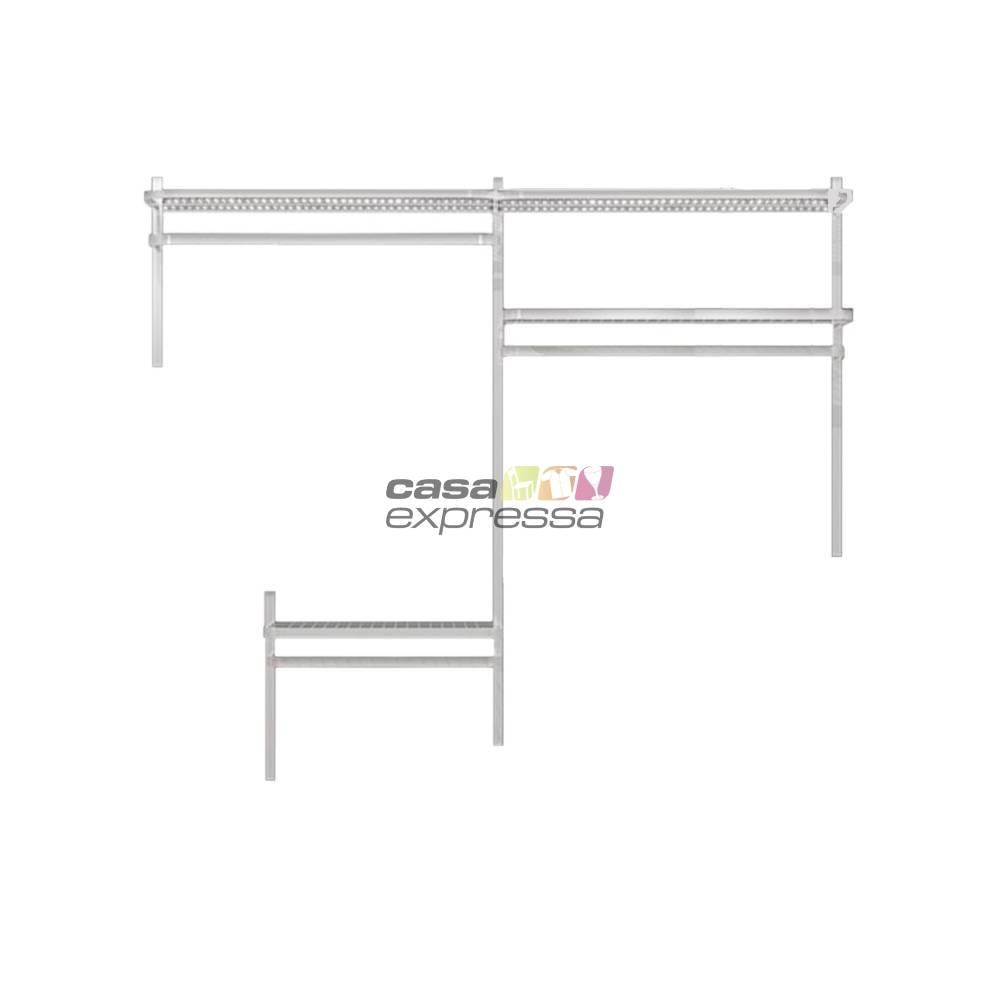 Closet Aramado - Linear CLR192 - 1,90m - CASA EXPRESSA