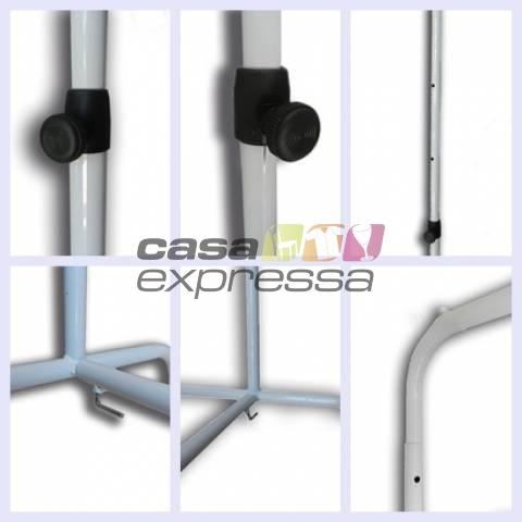 Arara para Roupas - 100cm - CASA EXPRESSA