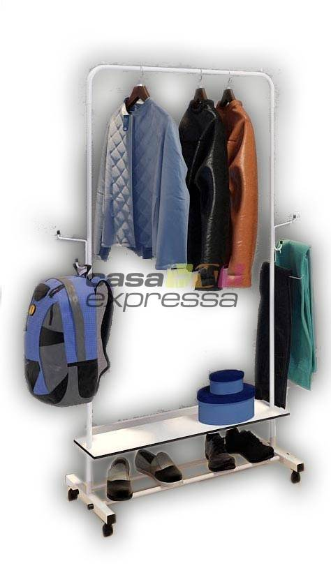 Arara para roupas - 80cm - Branca