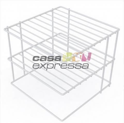Organizador de Pratos para Canto - 3 Unidades  - CASA EXPRESSA