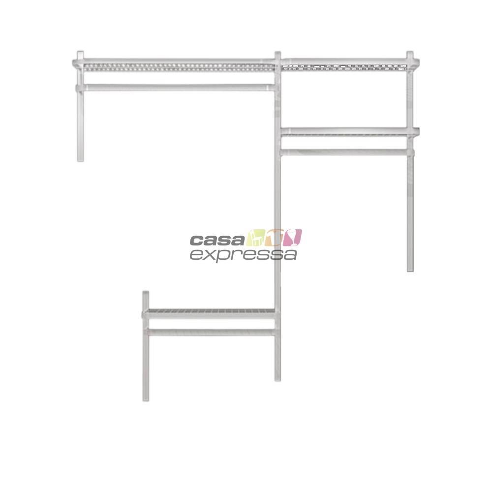 Closet Aramado - Linear CLR192 - 1,60m - CASA EXPRESSA