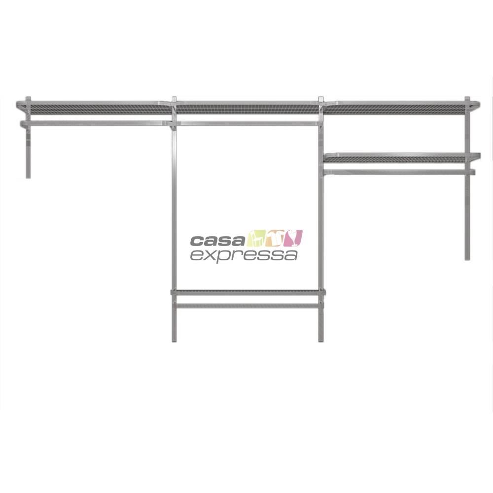 Closet Aramado - Linear CLR192 - 2,80m - CASA EXPRESSA
