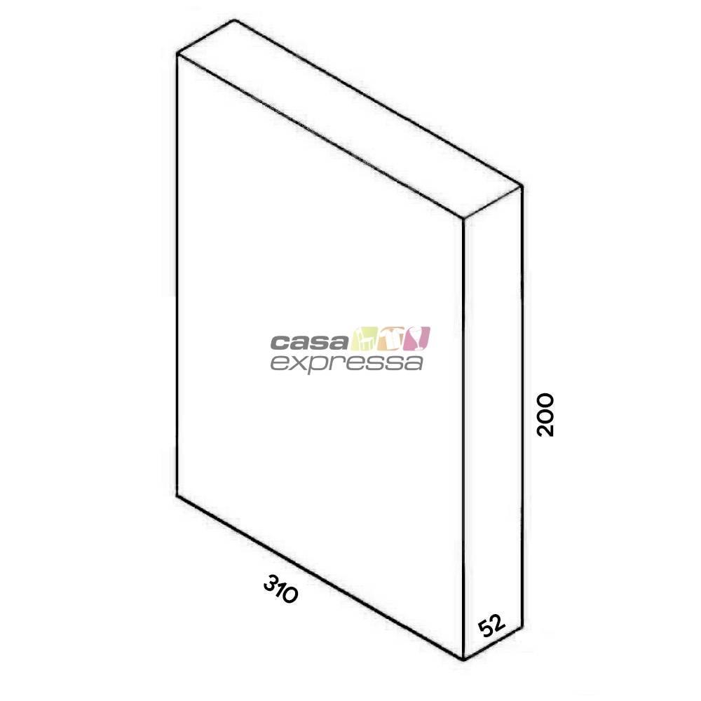 Closet Aramado - Linear CLR371 - 3,10M - CASA EXPRESSA