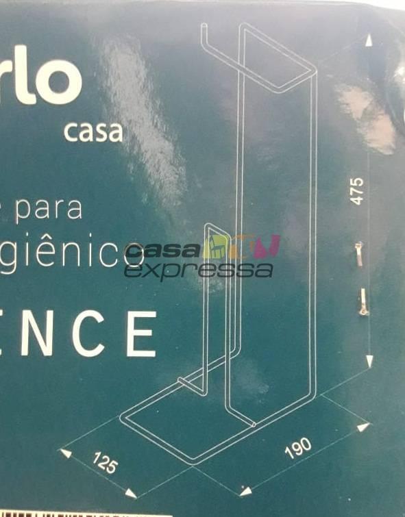 Suporte Para Papel Higiênico - CASA EXPRESSA
