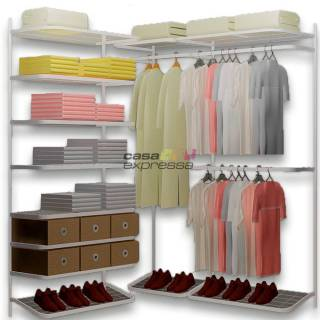 Closet Aramado em L  CLB02 - 1,60 x 1,60m