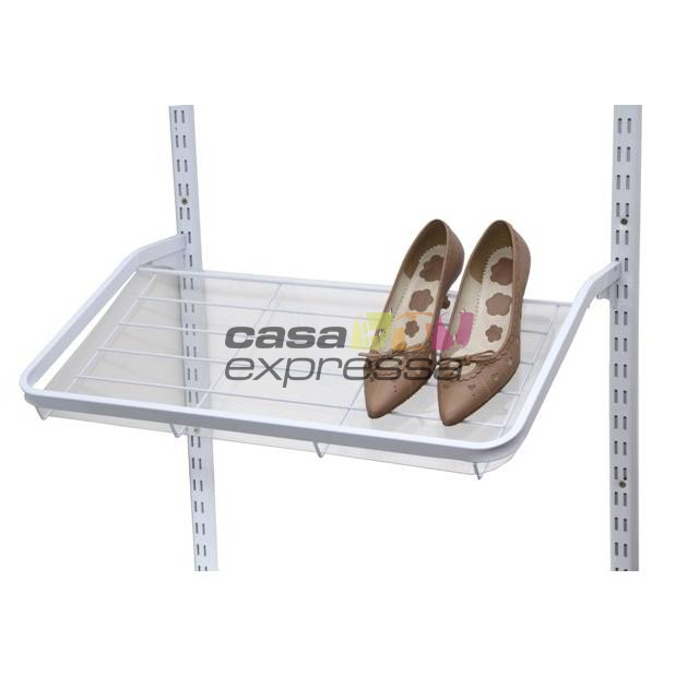 Closet Aramado em L  CLB08 - 3,40 x 3,40m - CASA EXPRESSA