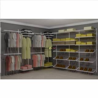 Closet Aramado em L  CLN07 - 3,10 x 3,10m