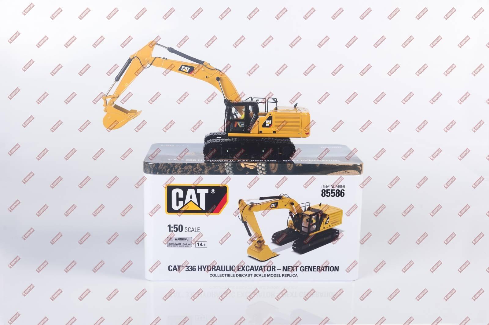Miniatura Escavadeira Hidráulica 336Caterpillar Cód 85586 - CURIPEÇAS
