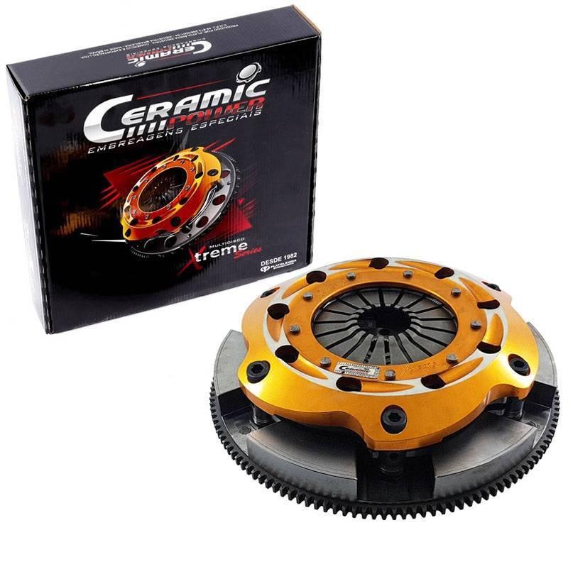 Embreagem Multidisco Xtreme Carbono Ajustável AP 1000cv - Estria GTI 16V - ITS Turbo