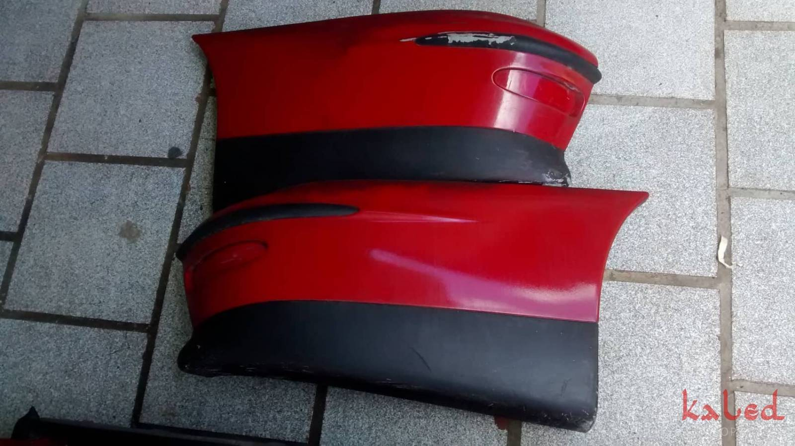 Parachoque traseiro do Fiat Marea Weekend 1999 a 2006 - Kaled Auto Parts