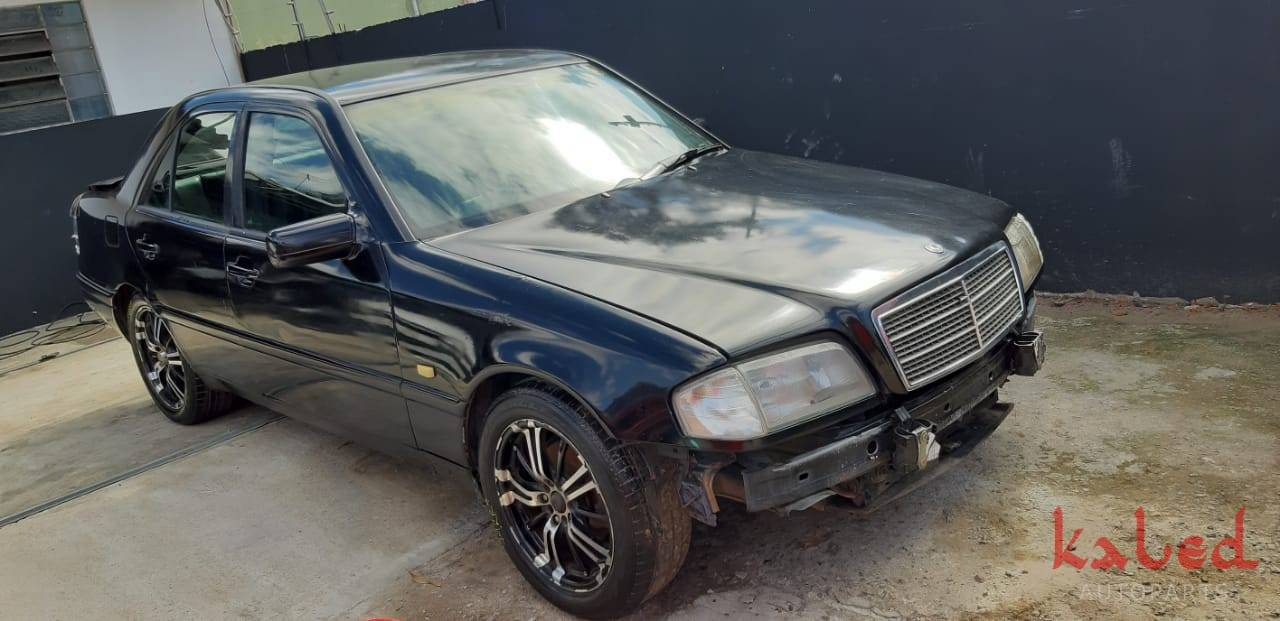Mercedes Benz C 180 1995 sucata para venda de peças - Kaled Auto Parts