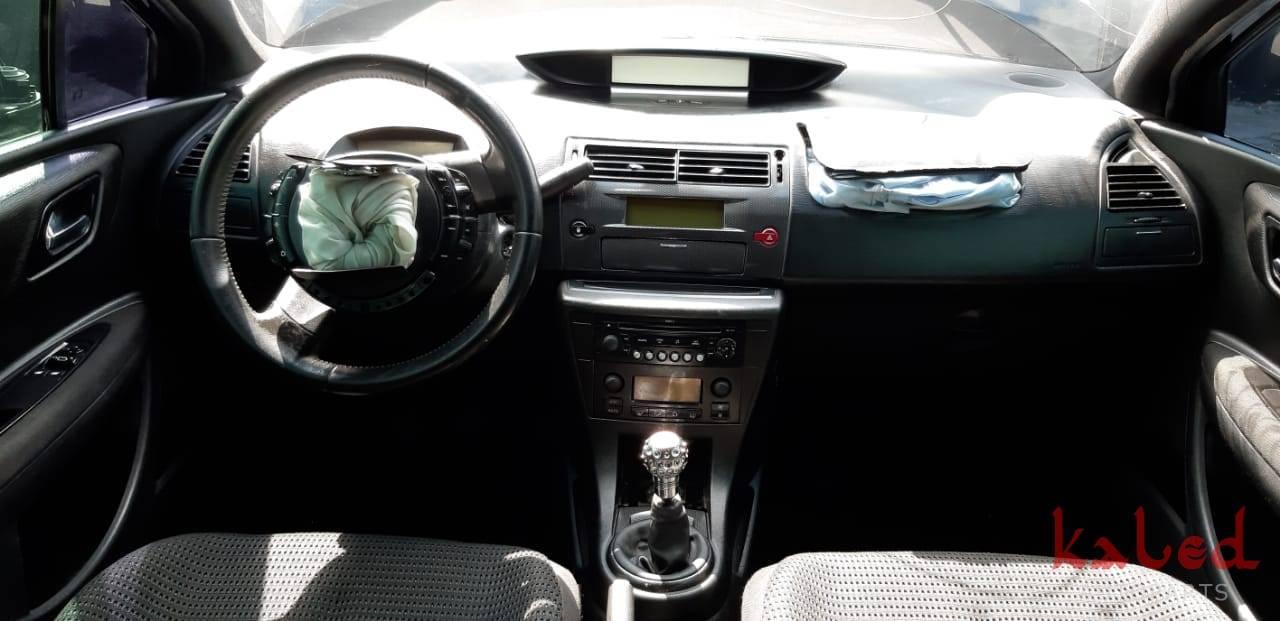 Citroen C4 VTR 2008 2.0 16v sucata para venda de peças - Kaled Auto Parts