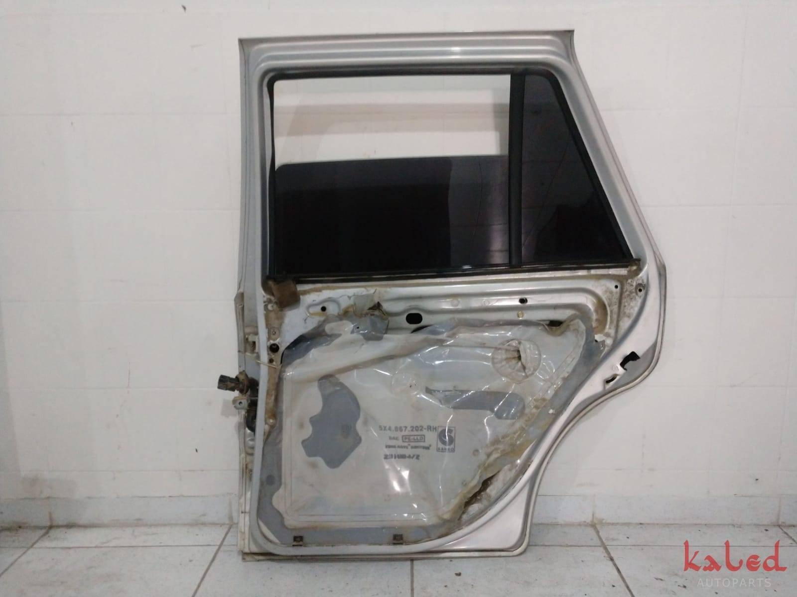 Porta traseira direita Gol Bola G3 G4 - Kaled Auto Parts