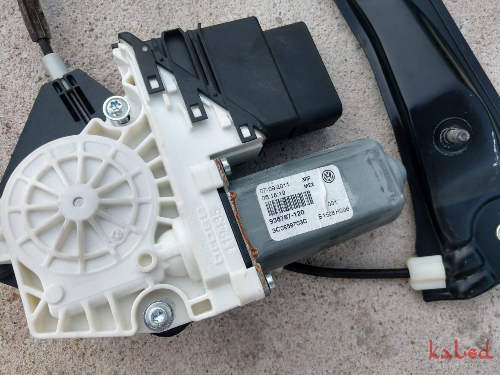 Máquina de vidro c/ motor traseira esquerda VW Jetta 2011/2018 - Kaled Auto Parts