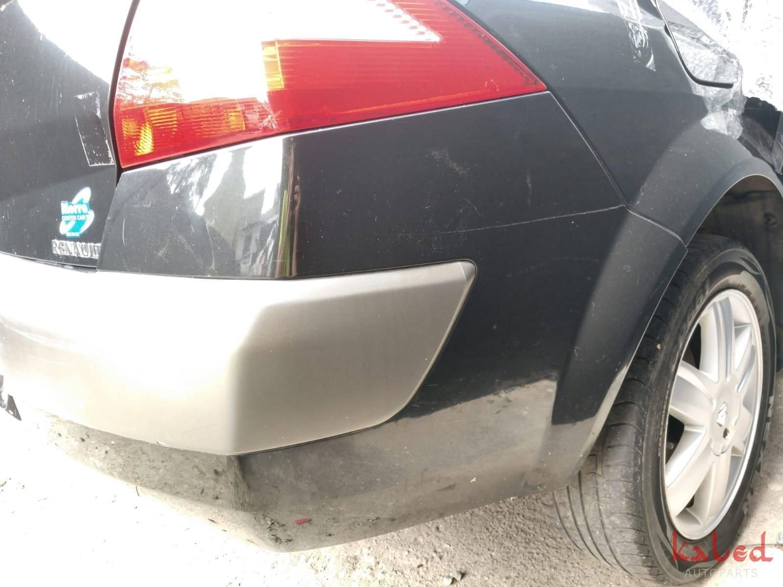 Parachoque traseiro Renault Megane sedan 2007/2011  - Kaled Auto Parts