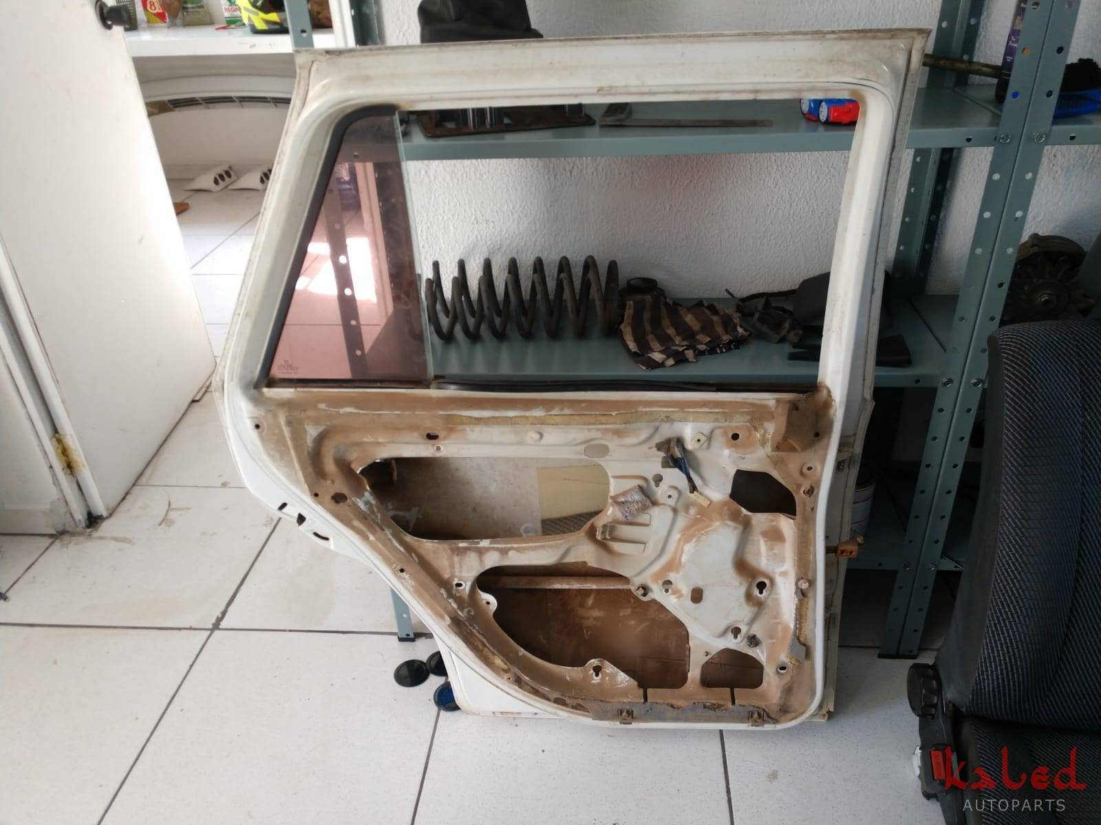 Porta traseira esquerda Gol Parati G3 - Kaled Auto Parts