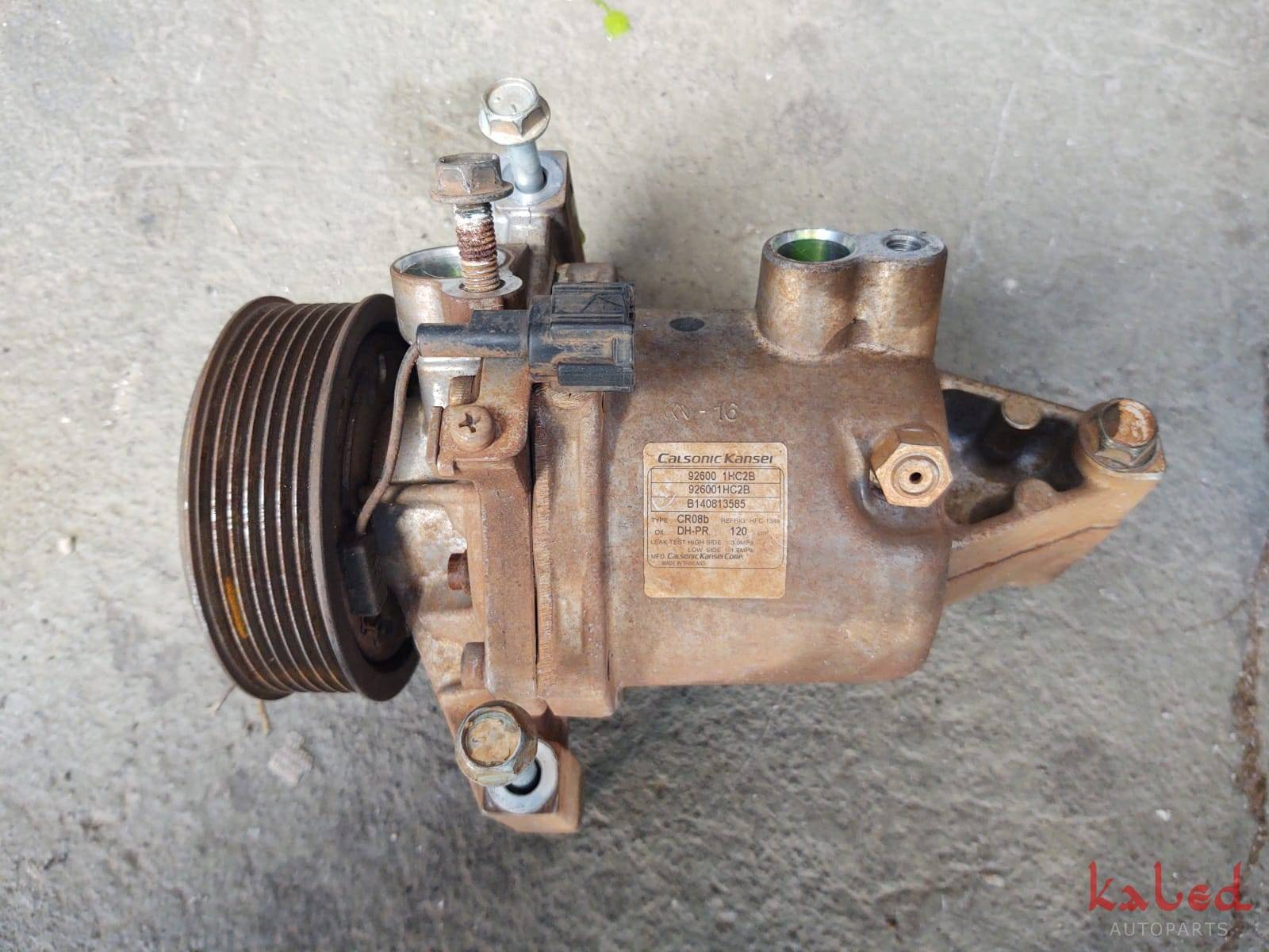 Compresso ar condicionado Nissan March 1.6 16v 92600 1HC2B - Kaled Auto Parts