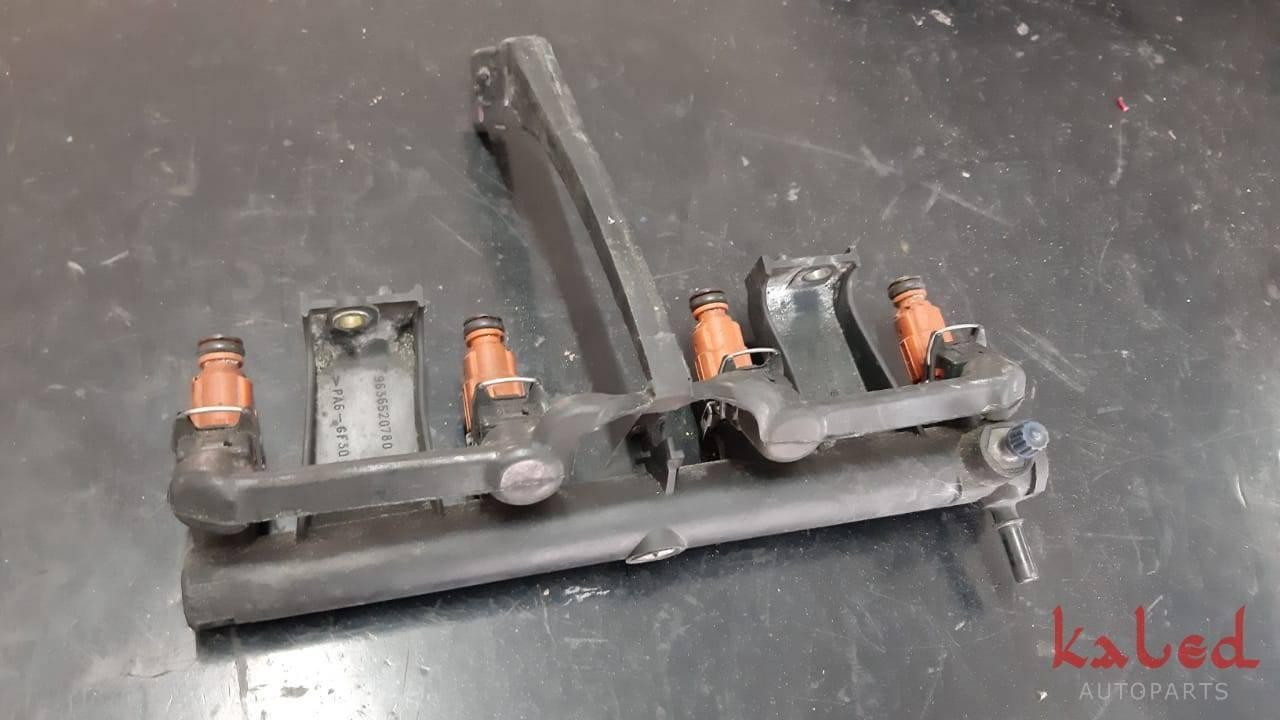 Jogo de bicos injetores do Peugeot 206 1.6 16v 2002 gasolina - Kaled Auto Parts