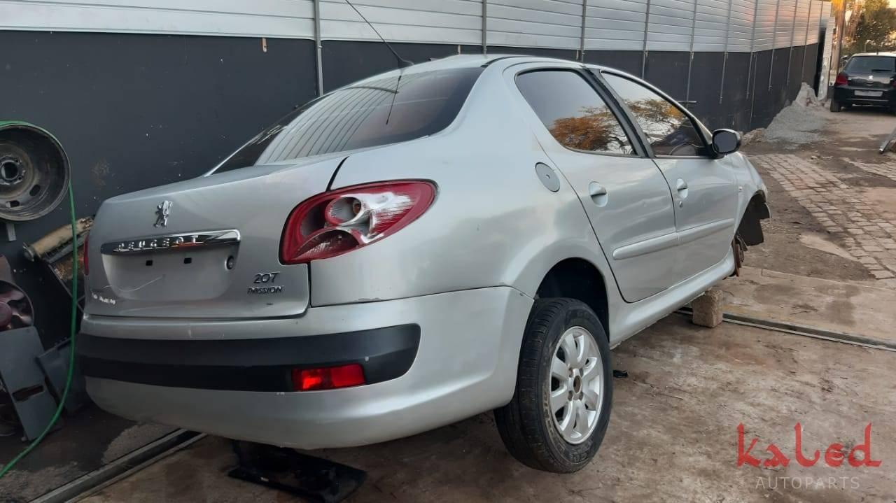 Sucata Peugeot 207 1.4 sedan Passion 2010 venda de peças - Kaled Auto Parts