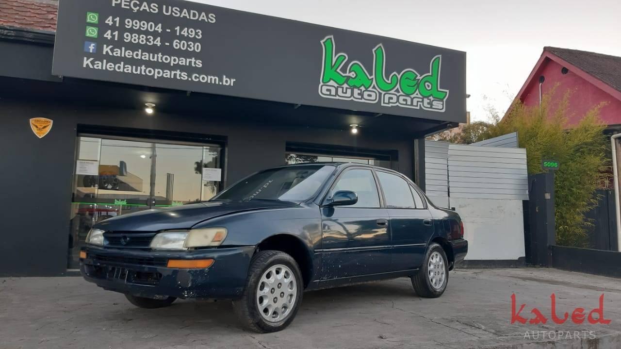 Sucata Toyota Corolla 1995 mecânico para venda de peças - Kaled Auto Parts