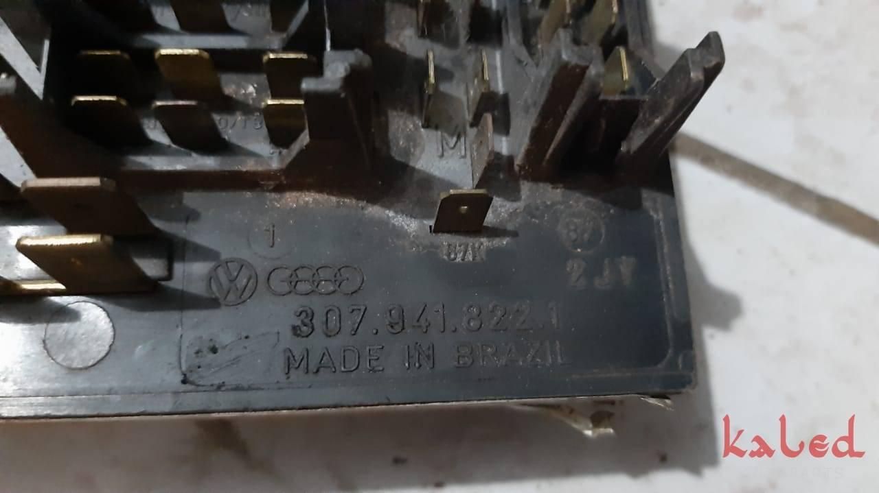 Caixa de fusiveis Vw Gol Parati Saveiro Voyage Quadrado - Kaled Auto Parts