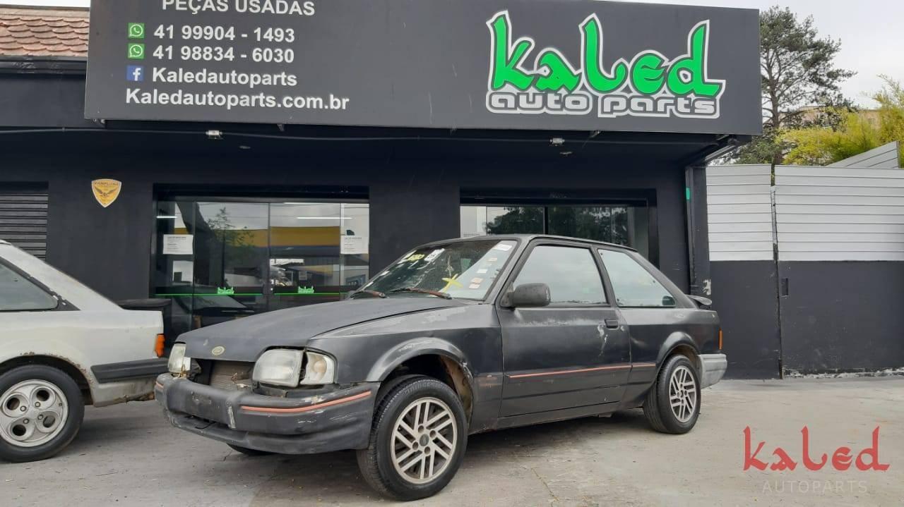 Sucata Ford Escort XR3 1988 CHT 1.6 venda de peças - Kaled Auto Parts
