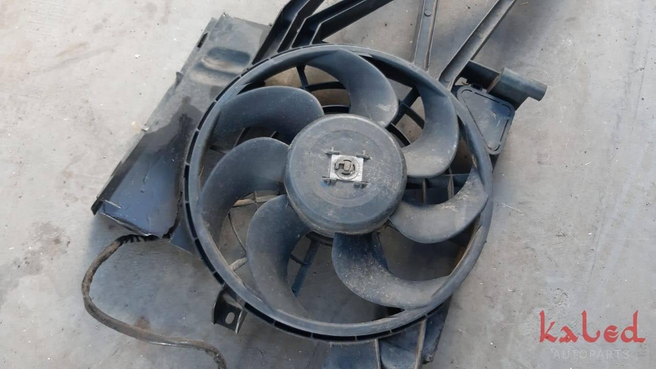 Eletroventilador ventoinha GM Corsa antigo com ar condicionado - Kaled Auto Parts