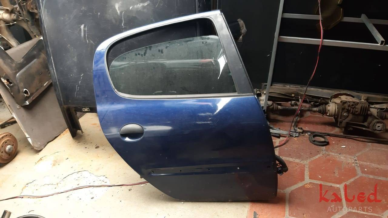 Porta traseira direita Peugeot 206 1999 a 2009 - Kaled Auto Parts