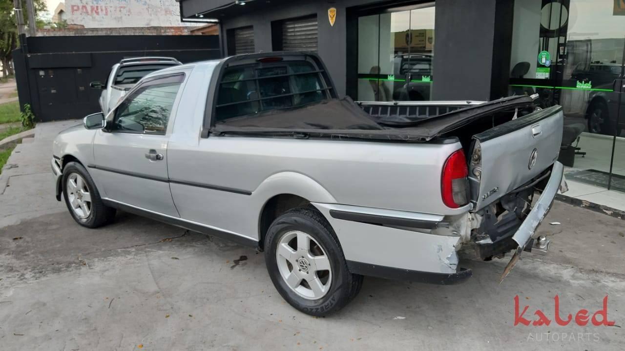 Sucata Vw Saveiro G3 2003 venda de peças - Kaled Auto Parts