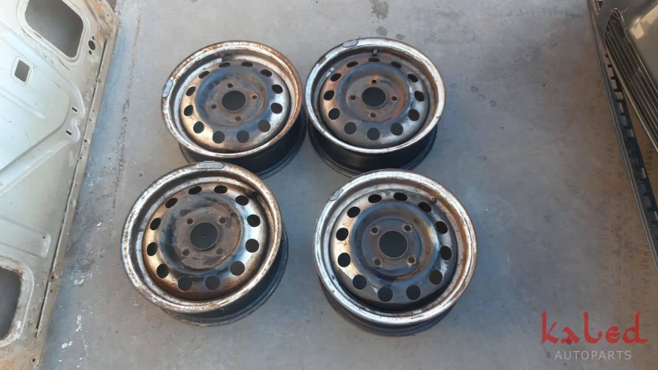 Jogo de rodas Ford aro 13 de ferro 4x108 - Kaled Auto Parts