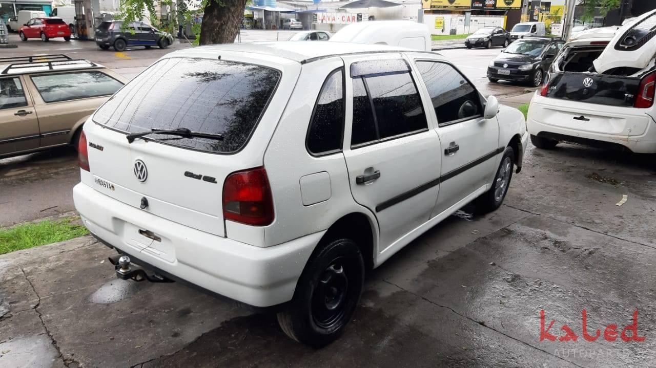 Sucata Vw Gol Bola GL 1.8mi 1999 venda de peças - Kaled Auto Parts