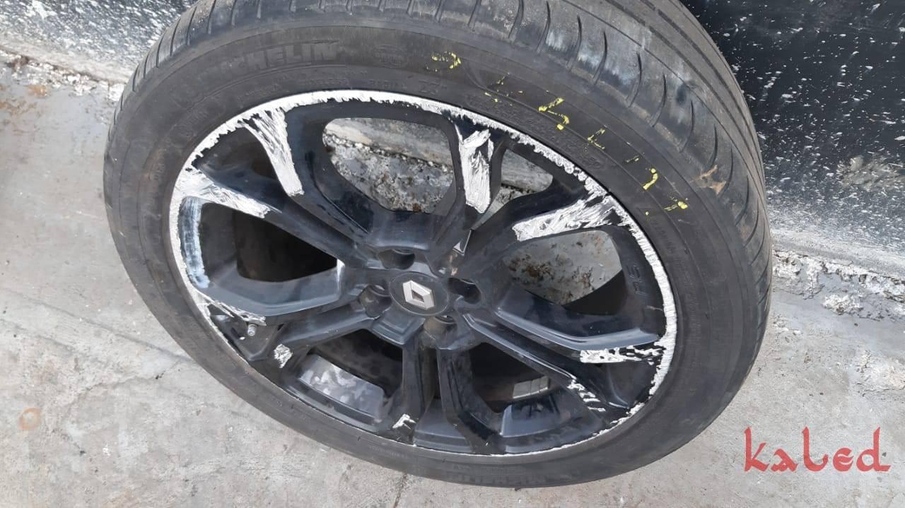 Roda avulsa Renault Sandero RS aro 17 para reforma - Kaled Auto Parts